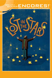Playbill Lost in the Stars